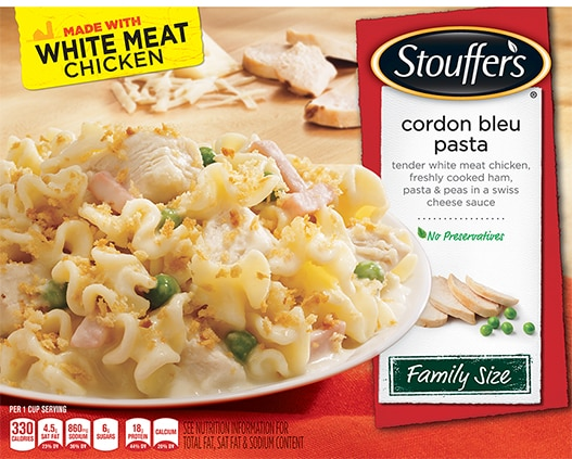 Family Size Chicken Cordon Bleu Pasta