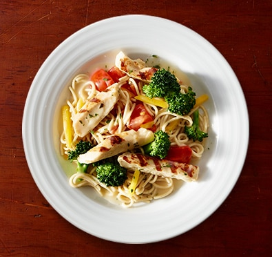Grilled Chicken Primavera