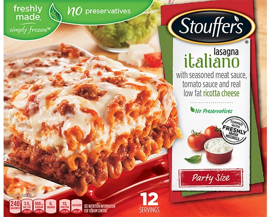 Party Size Lasagna Italiano
