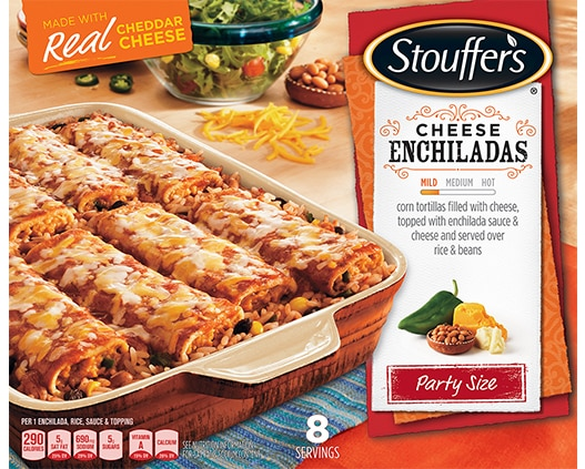 Party Size Cheese Enchiladas