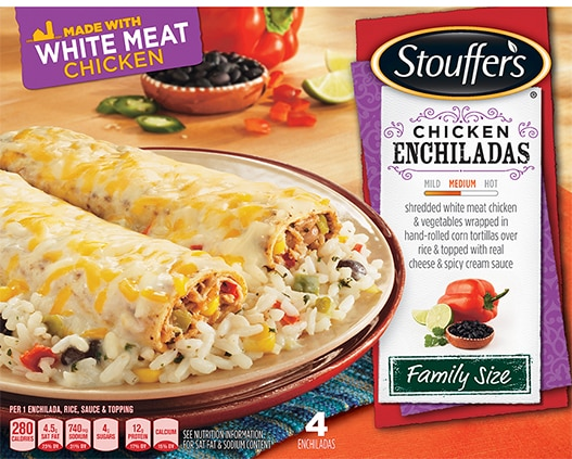Family Size Chicken Enchiladas