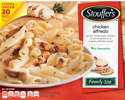 Family Size Chicken Alfredo