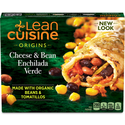 Cheese and Bean Enchilada Verde