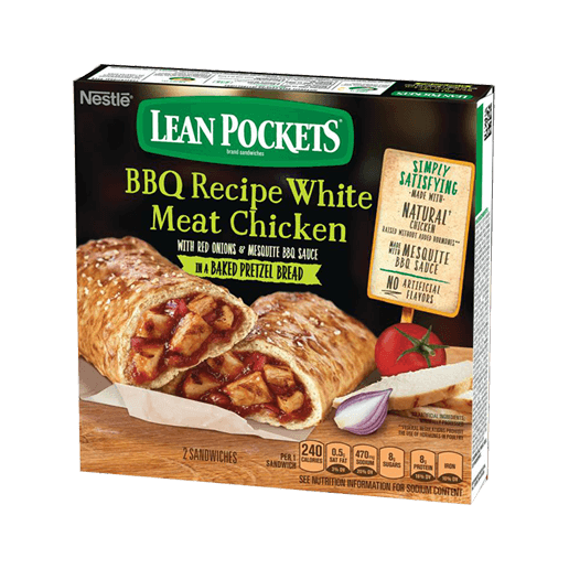 Lean Pockets BBQ Chicken