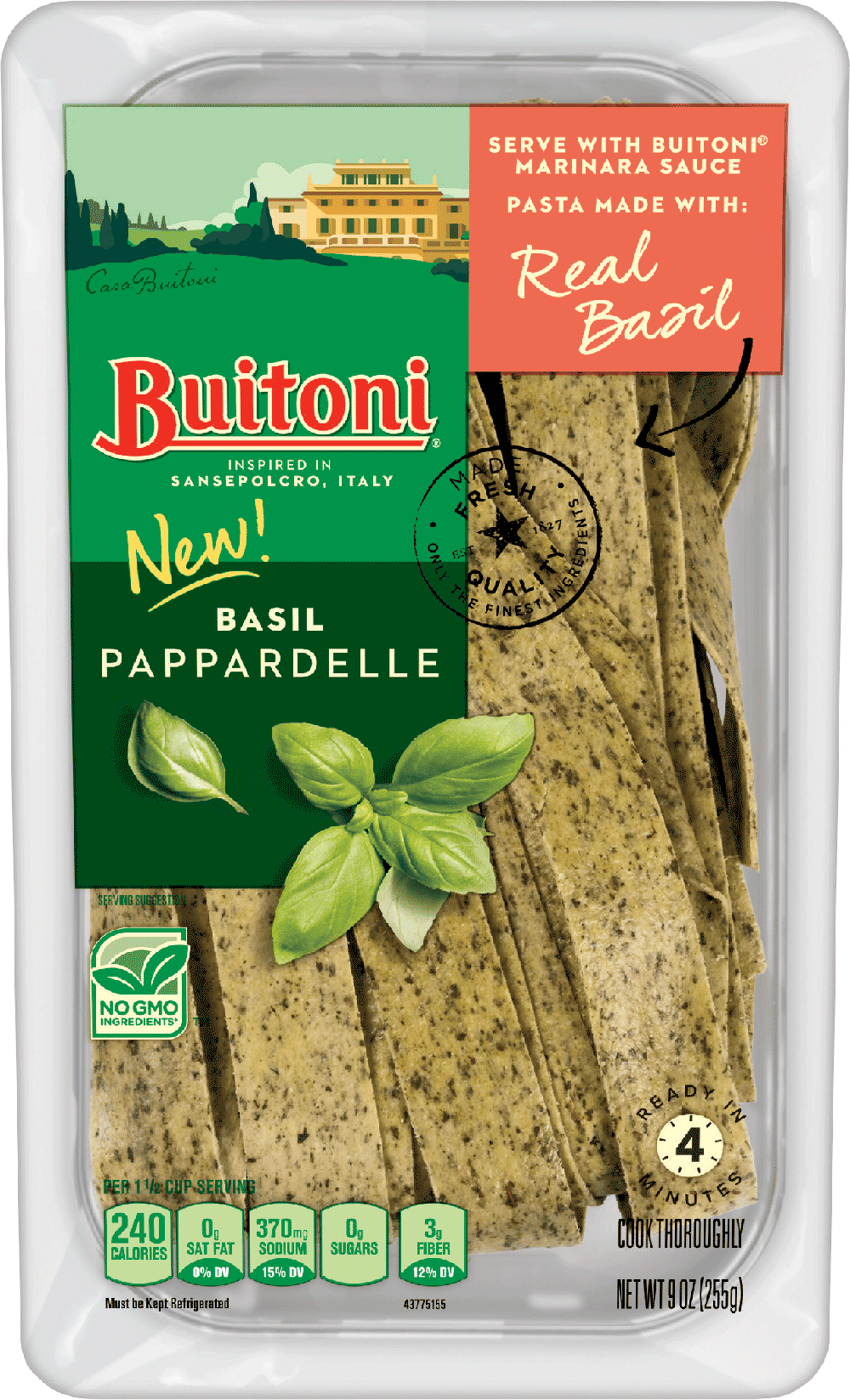 Basil Pappardelle