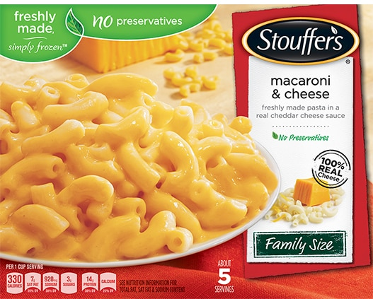 Family Size Macaroni & Cheese