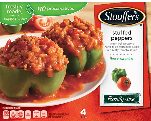 Family Size Stuffed Peppers