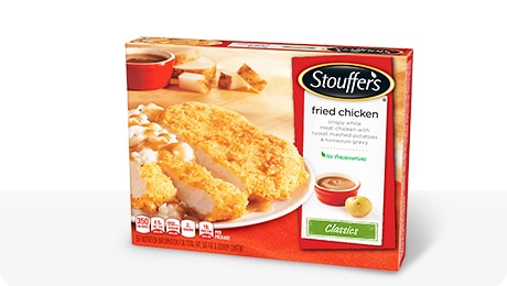 stouffer's baked chicken breast nutrition facts