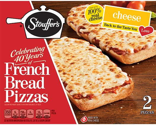 French Bread Pizza Cheese Pizza