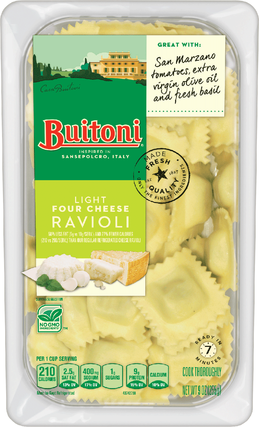 BUITONI®  Light Four Cheese Ravioli