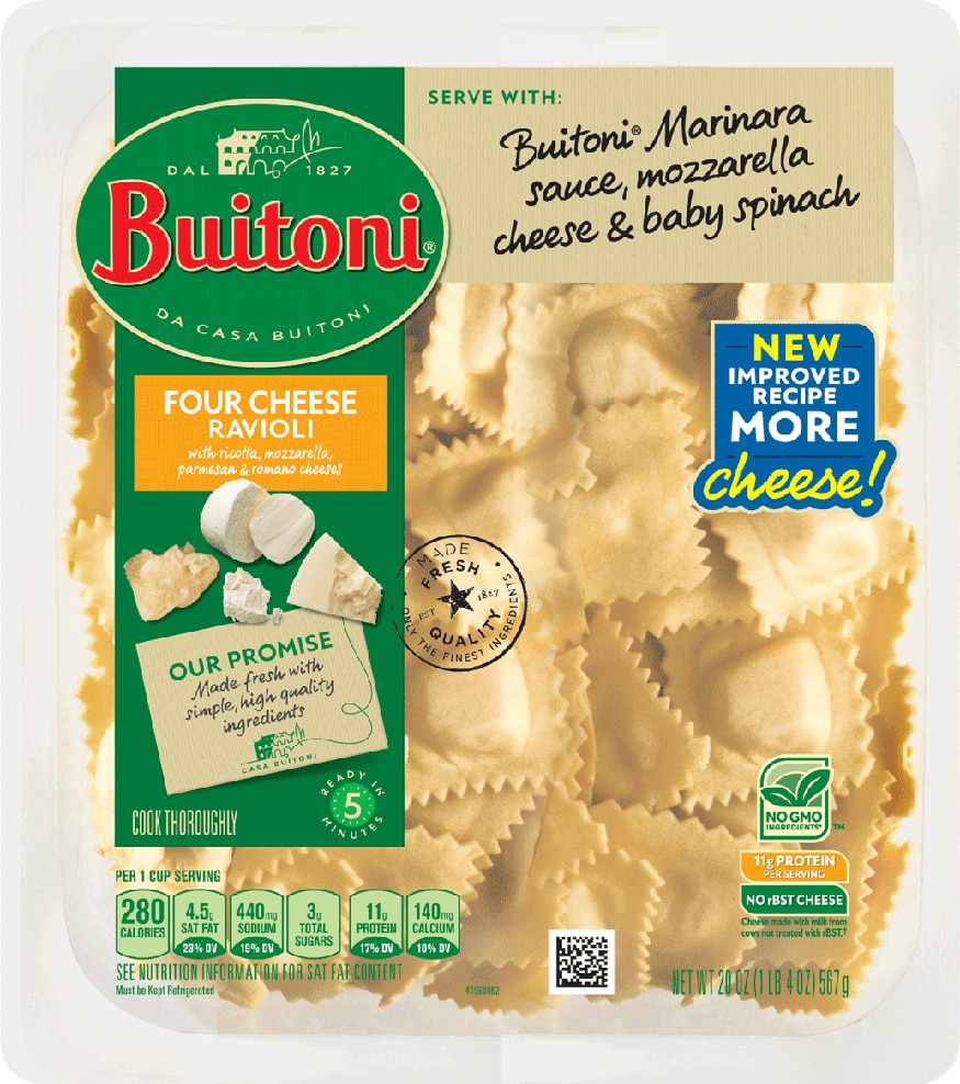 BUITONI®  Four Cheese Ravioli