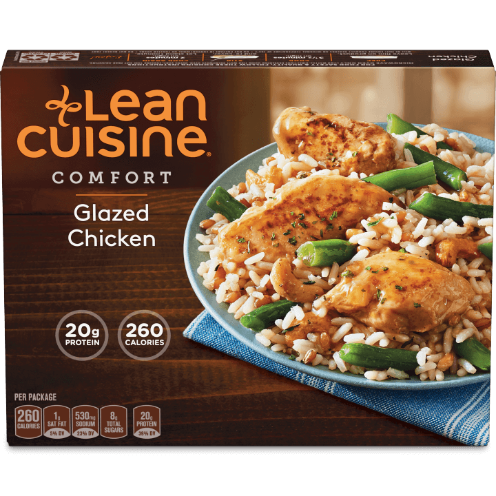 Glazed chicken lean cuisine for Are lean cuisine dinners healthy