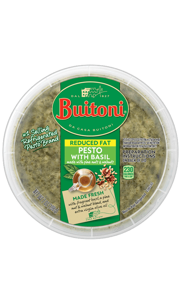 Reduced Fat Pesto with Basil  (7 oz.)