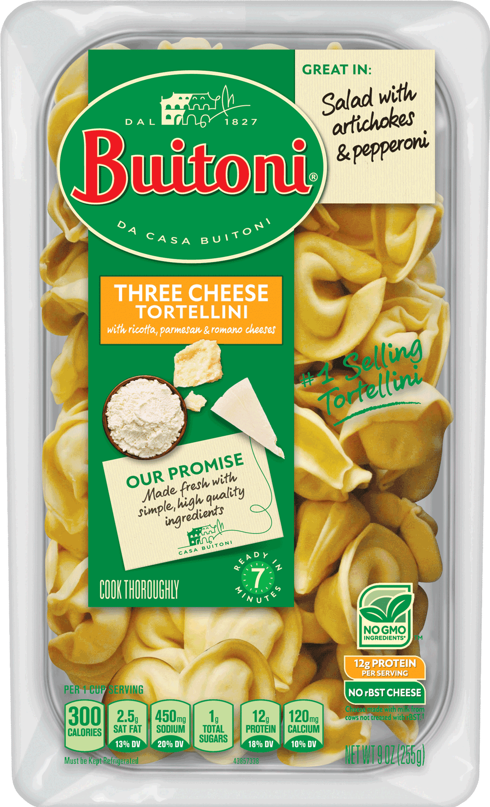 Three Cheese Tortellini