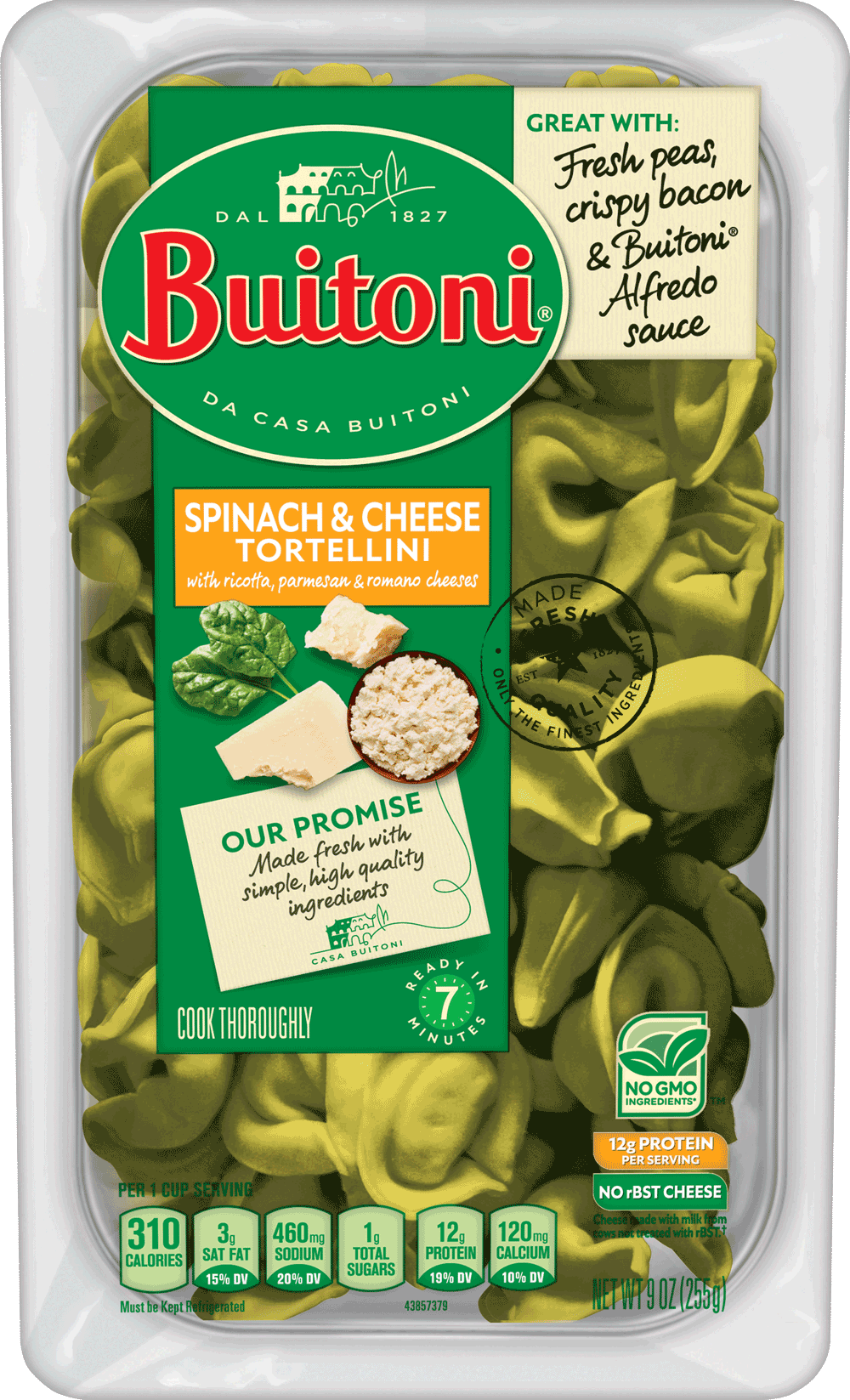 Spinach Cheese Tortellini