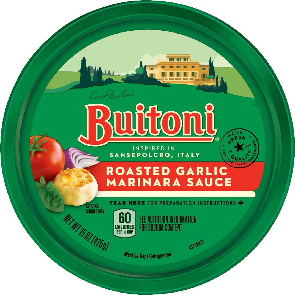 BUITONI®  Roasted Garlic Marinara Sauce  (15 oz.)