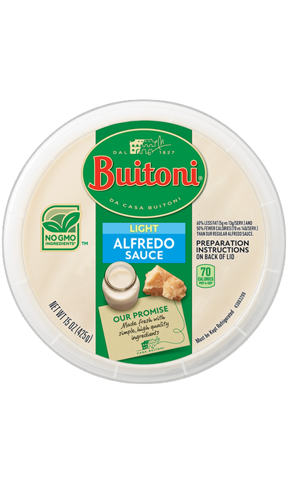 Light Alfredo Sauce  (10 oz.)