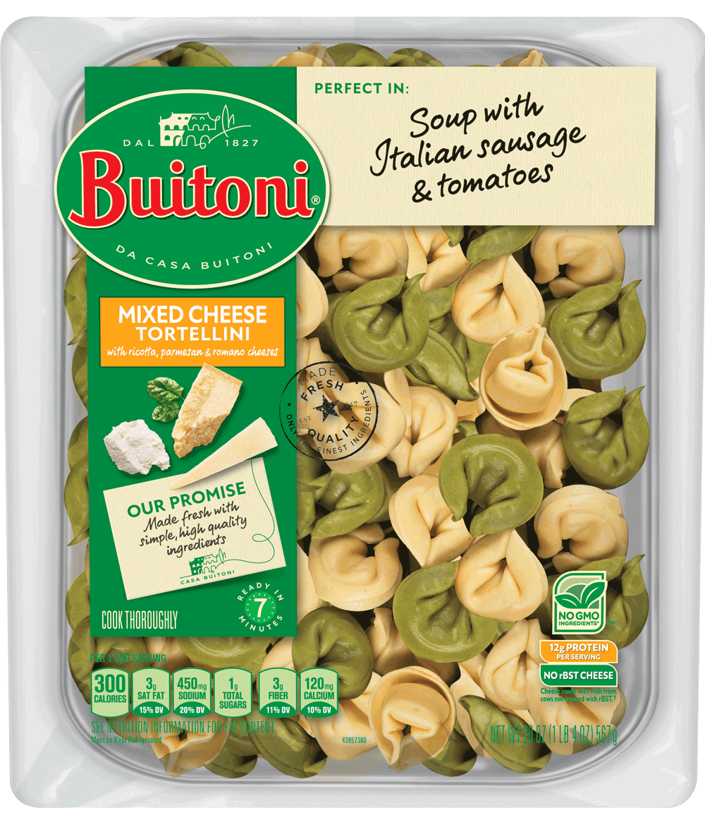Mixed Cheese Tortellini