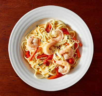 Shrimp & Angel Hair Pasta