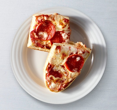 French Bread Pepperoni Pizza